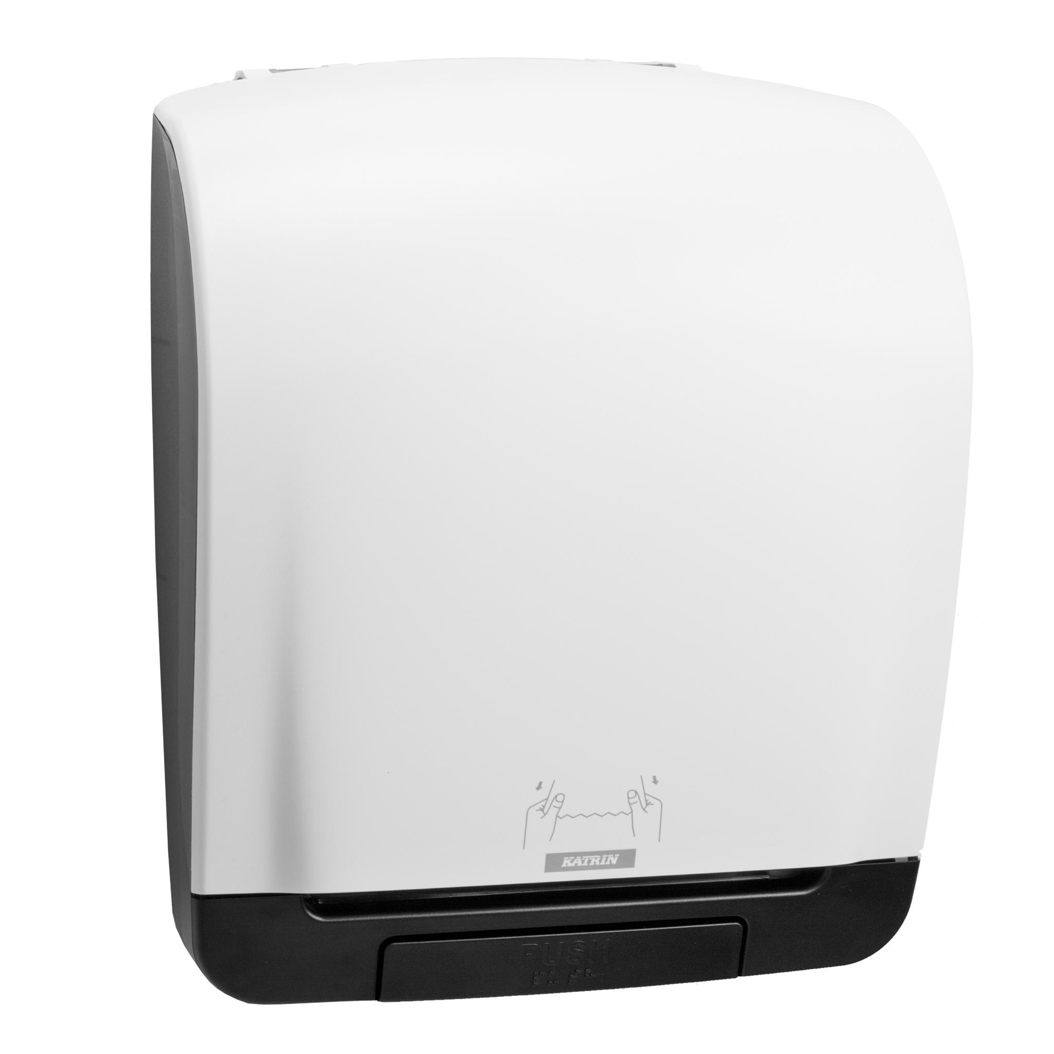 1457534093 90045 katrin system towel dispenser white side Kopie