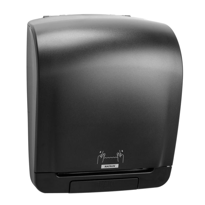 1458835672 92025 katrin system towel dispenser black side Kopie